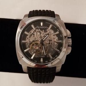 Armitron Automatic Skeleton Dial Men's Watch